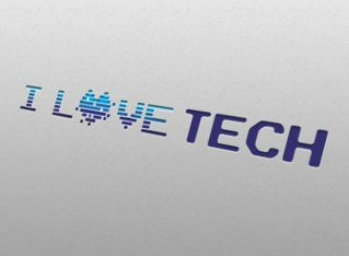 I love tech - Logo